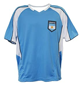 Buy World Cup Soccer Argentina Home Performance Poly Shirt by Rhinox