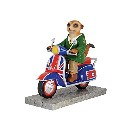 """Mod-Inspired """"Born To Ride"""" Meerkat Scooter Model by The Bradford Exchange"""