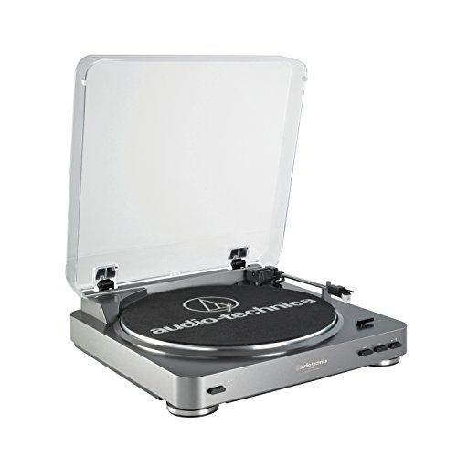 Audio-Technica AT-LP60-USB Fully Automatic Belt-Drive Stereo Turntable (USB & Analog) (Lp Turntable With Usb compare prices)
