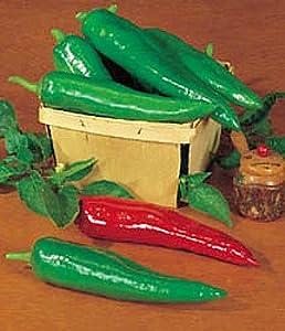 Pepper HOT Anaheim Chili BULK 3,000 Seeds Great Heirloom Vegetable