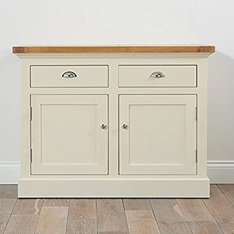 Cavanaugh Sideboard Solid Oak & Cream (Sizes Medium/Large)
