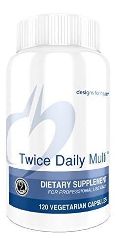 Designs for Health - Twice Daily Multi, 120 Vegetarian Capsules