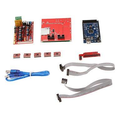 Zcl Robotale 3D Ramps 1.4 3D Control Board Set (Lcd12864 + 2560 R3 + 3D 1.4 + 4988)