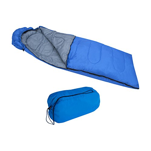 ALEKO-SB6BL-Sleeping-Bag-in-Camping-Bag-Four-seasons-Insulation-Blue