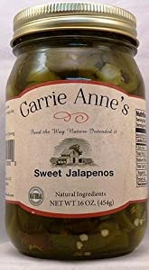 Carrie Anne's Sweet (Candied) Jalapenos