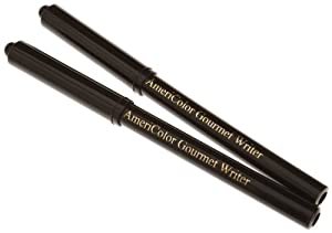 Americolor Black Food Writer Marker Set