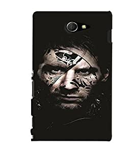 GADGET LOOKS PRINTED BACK COVER FOR Sony Xperia M2 MULTICOLOR
