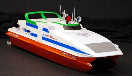 RC Ferry Boat R/C Tracer Catamaran Electric Radio Remote Control Model Ship