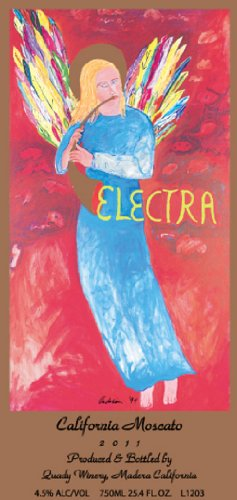 Quady 2012  Electra Moscato - Orange Muscat 750ml