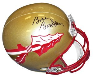 Bobby Bowden signed Florida State Seminoles Full Size Replica Riddell Helmet by Athlon+Sports+Collectibles