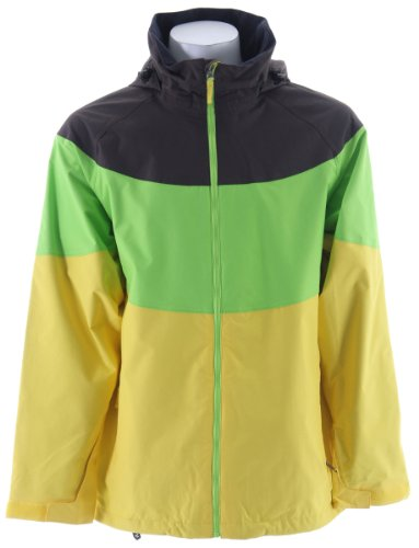 Sessions Sierra Ski Snowboard Jacket Lemonade Sz L