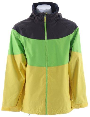 Sessions Sierra Ski Snowboard Jacket Lemonade Sz L
