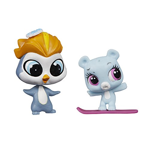 Littlest Pet Shop Pet Pawsabilities Eliza Blue & Rad Slopington
