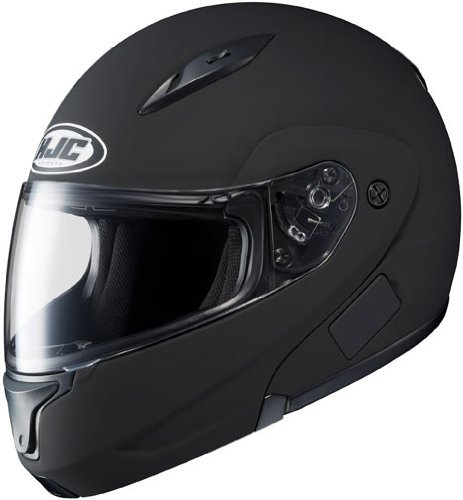 HJC Mens CL-Max 2 Modular Motorcycle Helmet Matte Black XXXXL 4XL by HJC Helmets (Modular Helmet Xxxxl compare prices)