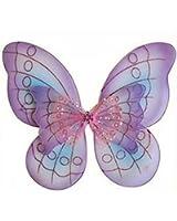 Purple Butterfly Costume Dress-up Wings