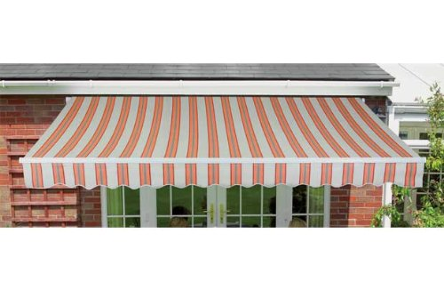 Essentialz Greenhurst Kingston Garden Awning - 25m with Advanced Windup 4 LED Outdoor Lantern