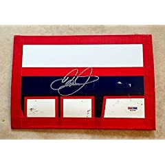Dale Earnhardt Jr NATIONAL GUARD Signed Race Used Sheetmetal COA #2 - PSA DNA... by Sports Memorabilia