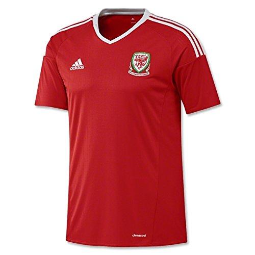 2016-2017 Wales Home Adidas Football Shirt