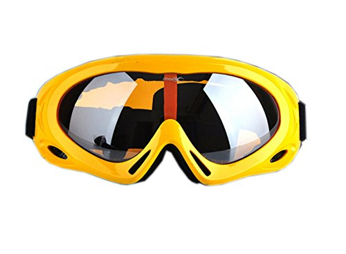 Eyecatching Ginger Yellow Ski Goggle For Adult