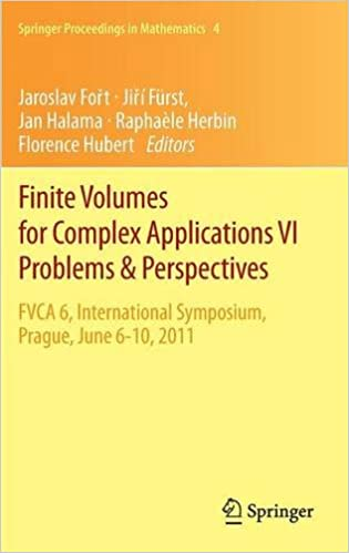 Finite Volumes for Complex Applications VI Problems & Perspectives (Springer Proceedings in Mathematics)