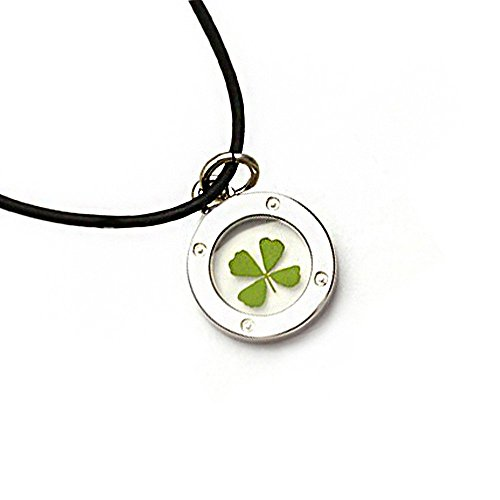black-cord-real-irish-four-leaf-clover-symbol-of-good-luck-clear-round-pendant-necklace-16-18