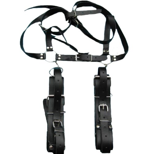 Wowlife New 2014 Style Sexy Sturdy Sling Spreader Thighs Hand Restraint Bondage Unisex Harness with Adjustable Designed Under the Bed Restraint Tool,easy Access & Portable Pleasure Cuffs for Fetish Sex Game
