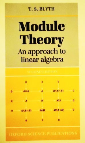 Module theory: an approach to linear algebra
