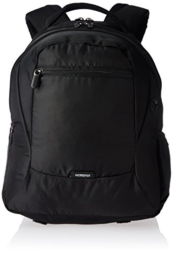 American Tourister Comet Polyester 29.7 ltrs Black Laptop Bag (61W (0) 09 301)