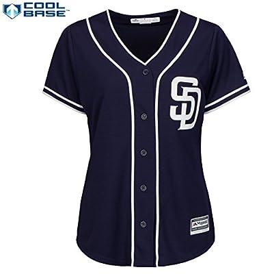 San Diego Padres MLB Women's Cool Base Alternate Jersey Navy