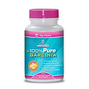 (80% HCA) 100% PURE Garcinia Cambogia Extract (2310 mg per Serving) by Rush Nutrition - 90 Capsules (Clinically Proven for Weight-Loss)
