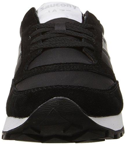 Saucony Originals Women's Jazz Original Classic Retro Sneaker, Black/Grey, 8.5 M US