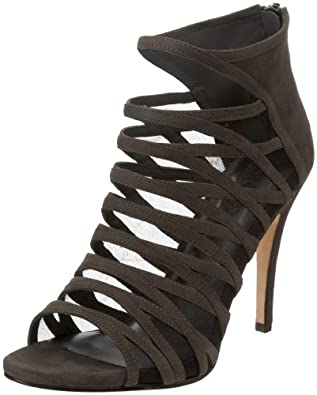 DKNY Women's Ava Sandal,Grey,7.5 M US