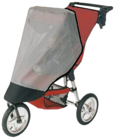 Sashas Sun, Wind and Insect Stroller Cover for Baby Jogger City Elite and Summit XC Single Model