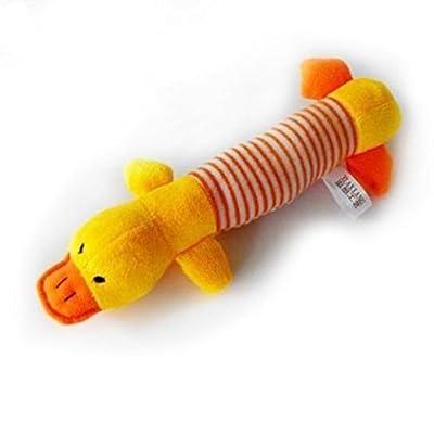 Yunt Durable Flossy Bears Knots Dog Puppy Cat Pet Dental Floss Tough Rope Chew Toy(Random Color Sent)