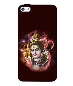 printtech Lord God Om Namah Shivaya Back Case Cover for Apple iPhone 5::Apple iPhone 5S