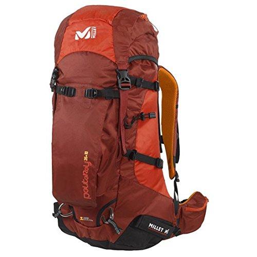Millet Peuterey - Zaino da alpinismo, 35 + 10 litri, rosso (Peperoncino), 35+10 L