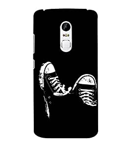 EPICCASE Sneakers Mobile Back Case Cover For Lenovo Vibe X3 (Designer Case)