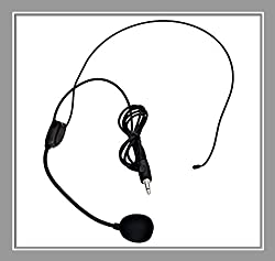 VoiceBooster Headset Microphone for VoiceBooster (Aker) Voice Amplifiers by TK Products, LLC