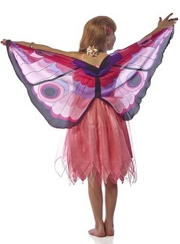 Douglas Toys Childrens' Butterfly Pink Dreamy Dress-up Costume -Medium