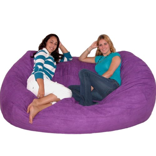 Funky Purple Bean Bag Chairs Funk This House