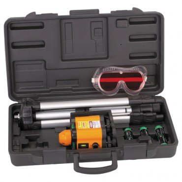 Motorized Rotary 360-degrees Laser Level Horizontal and Vertical Kit 100 feet Range