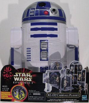 Star Wars Episode 1 R2-D2 Carryall Playset with Exclusive Destroyer Droid Figure - Buy Star Wars Episode 1 R2-D2 Carryall Playset with Exclusive Destroyer Droid Figure - Purchase Star Wars Episode 1 R2-D2 Carryall Playset with Exclusive Destroyer Droid Figure (Hasbro, Toys & Games,Categories,Action Figures,Collectibles)