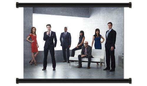 White Collar TV Show Season 3 Fabric Wall Scroll Poster (32