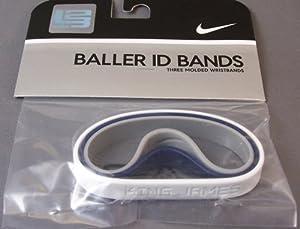 Amazon.com : Nike ID Baller Bands - LEBRON JAMES - Navy