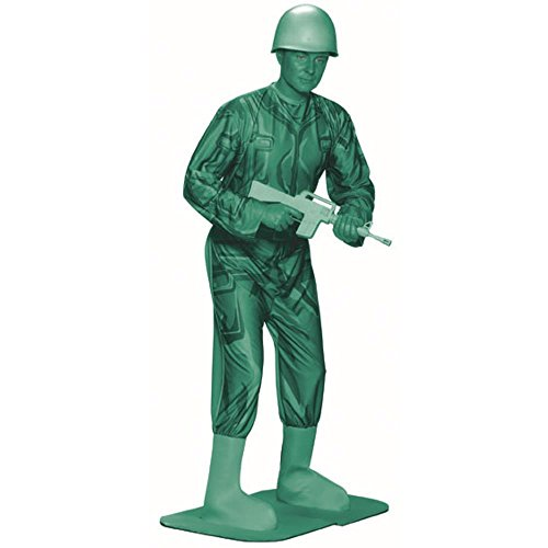 Adult Green Army Man Toy Costume (Size: Standard 44)