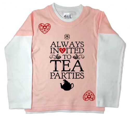 Dirty Fingers Girls Invited Tea Parties Alice Wonderland Skaterp