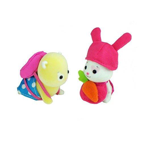 Zhu Zhu Babies Adorable Baby Outfits 2Pack Carrot Blue Polka Dots