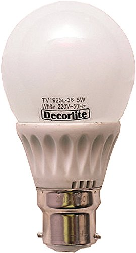 Decorlite 5W LED Bulb (White) Image