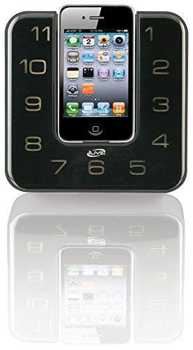 ilive icp391b digital clock with fm radio alarm and ipod iphone dock with remote control home. Black Bedroom Furniture Sets. Home Design Ideas