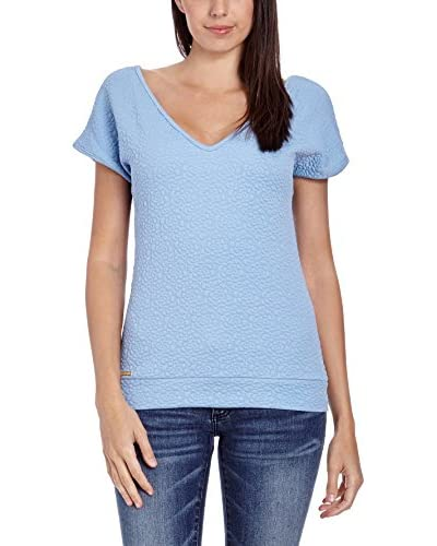 Makadamia T-Shirt Manica Corta [Blu Chiaro]